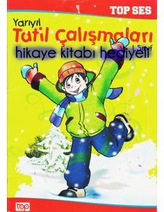 Top Yayıncılık 1.Sınıf Renkli Yarıyıl Tatil Kitabı (hediyeli)