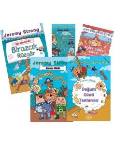 Nemesis Yayınları 2.-3. ve 4.Sınıf Korsan Okulu Hikaye Seti (5 Kitap)