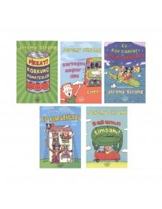 Nemesis Yayınları 2.-3. Ve 4.Sınıf Korsan Serisi Hikaye Kitapları (5 Kitap)