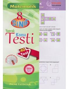 Palme Yayınları Ortaokul 8.Sınıf Matematik Yaprak Testi