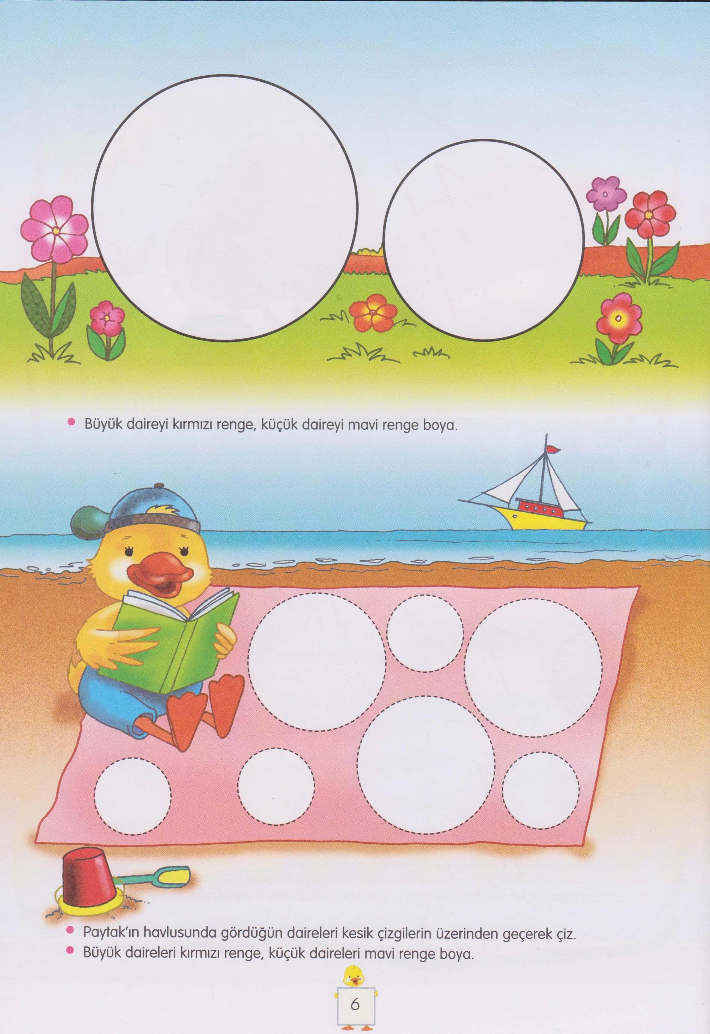 Final yayınları 3 4 yaş paytak ördek matematik öğreniyor