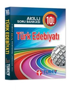 Türev Yayınları 10.Sınıf Akıllı Soru Bankası Türk Edebiyatı Kitabı