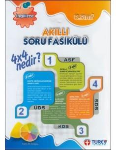 Türev Yayınları 8.Sınıf Ingilizce Akıllı Soru Fasikülü