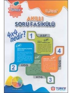 Türev Yayınları 8.Sınıf Türkçe Akıllı Soru Fasikülü