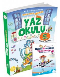 5 Renk Yayınları İlkokul 4.Sınıf Yaz Okulu Tatil Kitabı ( 5.Sınıfa Geçtim ) Kampanyalı