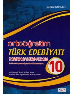 Akpa Akköprü Yayıncılık 10.Sınıf Türk Edebiyatı Yardımcı Ders Kitabı