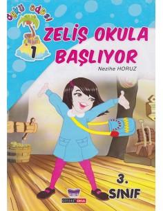 Gendaş Yayınları 3.Sınıf Öykü Adası Yaz Tatil Seti