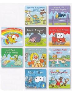 Yapa Yayınları 3 Yaş ve Üzeri 360 Öykü Dizisi Renkler