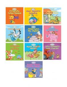 Yapa Yayınları 3 Yaş ve Üzeri 360 Öykü Dizisi Meslekler