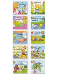Yapa Yayınları 3 Yaş ve Üzeri Anne Ayı Sarı Yumak Dizisi