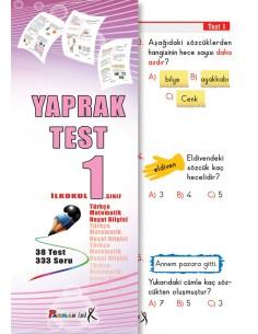 Parmak izi Yayınları 1.Sınıf Tüm Dersler Yaprak Test