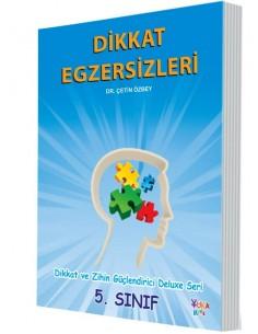Yuka Kids Yayınları 5.Sınıf Dikkat Ve Zihin Güçlendirici Deluxe Seri Dikkat Egzersizleri