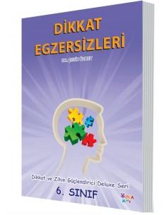 Yuka Kids Yayınları 6.Sınıf Dikkat Ve Zihin Güçlendirici Deluxe Seri Dikkat Egzersizleri