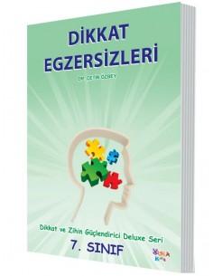 Yuka Kids Yayınları 7.Sınıf Dikkat Ve Zihin Güçlendirici Deluxe Seri Dikkat Egzersizleri