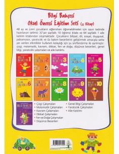 Erdem Yayınları Okul Öncesi Bilgi Bahçesi Eğitim Seti (48 Ay ve üstü)