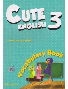 Birkent Yayınları Ingilizce Cute 3 Vocabulary Book