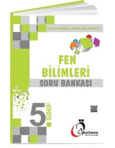 Öğretmen Yayınları Ortaokul 5.Sınıf Fen Bilimleri Soru Bankası
