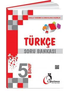 Öğretmen Yayınları Ortaokul 5.Sınıf Türkçe Soru Bankası