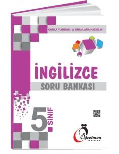 Öğretmen Yayınları Ortaokul 5.Sınıf İngilizce Soru Bankası