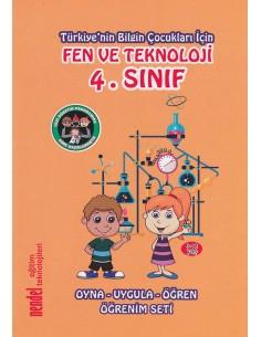 Nendel Eğitim Teknolojileri 4.Sınıf Fen Ve Teknoloji Oyna - Uygula - Öğren Öğrenim Seti
