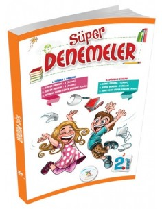 5 Renk Yayınları 2.Sınıf Süper Denemeler (6'lı Deneme)