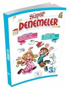 5 Renk Yayınları 3.Sınıf Süper Denemeler (6'Lı Deneme)