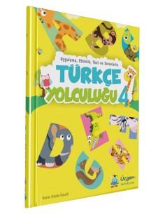 Üçgen Yayınları 4.Sınıf Türkçe Yolculuğu
