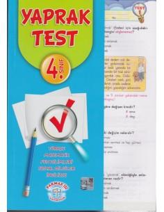 Parmak Izi Yayınları 4.Sınıf Tüm Dersler Yaprak Test