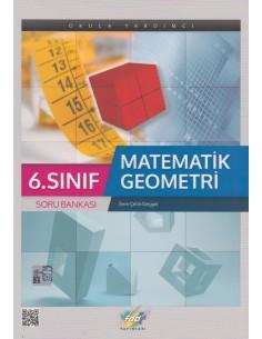 FDD Yayınları Ortaokul 6.Sınıf Matematik Geometri Soru Bankası