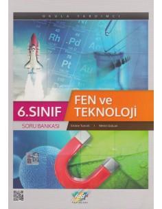 FDD Yayınları Ortaokul 6.Sınıf Fen ve Teknoloji Soru Bankası