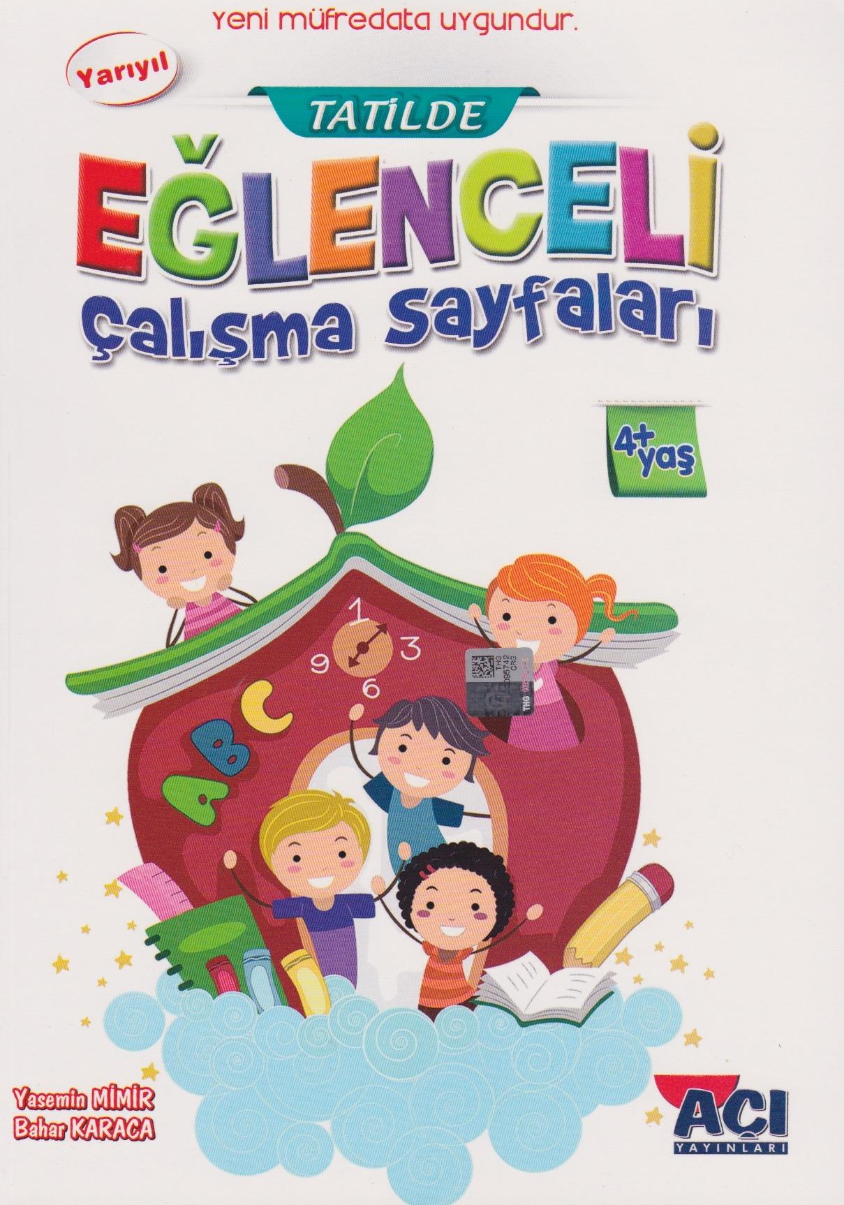 Aci Yayincilik Okul Oncesi Tatil Calisma Sayfalari 4yas