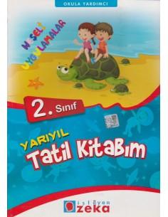 İsleyen Zeka Yayınları İlkokul 2.Sınıf Yarıyıl Tatil Kitabım