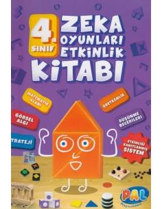 Pal 4.Sınıf Zeka Oyunları Etkinlik Kitabı