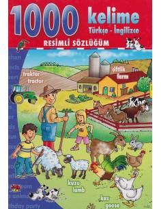 Net Çocuk 1000 Kelime Türkçe-İngilizce Resimli Sözlüğüm