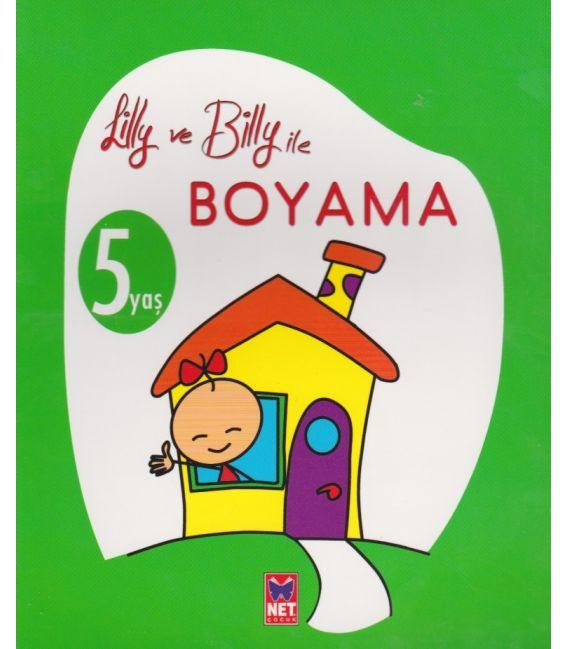 Net çocuk Lilly Ve Billy Boyama 4 Yaş