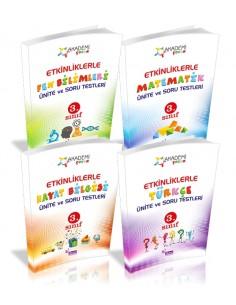 Duru Yayınları 3.Sınıf Etkinliklerle Ünite Soru ve Testleri Seti