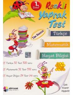 Dörtrenk Yayınları 1.Sınıf Renkli Yarıyıl Tatil Kitabı (Hediyeli)