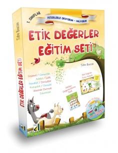 Damla Yayınları Etik Değerler Eğitim Seti (1. Sınıf)