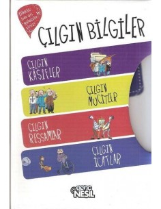 Nesil Çocuk Yayınları Çılgın Bilgiler (4 Kitap)