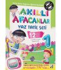 Damla Yayınları 1.Sınıf Akıllı Afacanlar Yaz Tatil Seti (2.Sınıfa Geçenlere)
