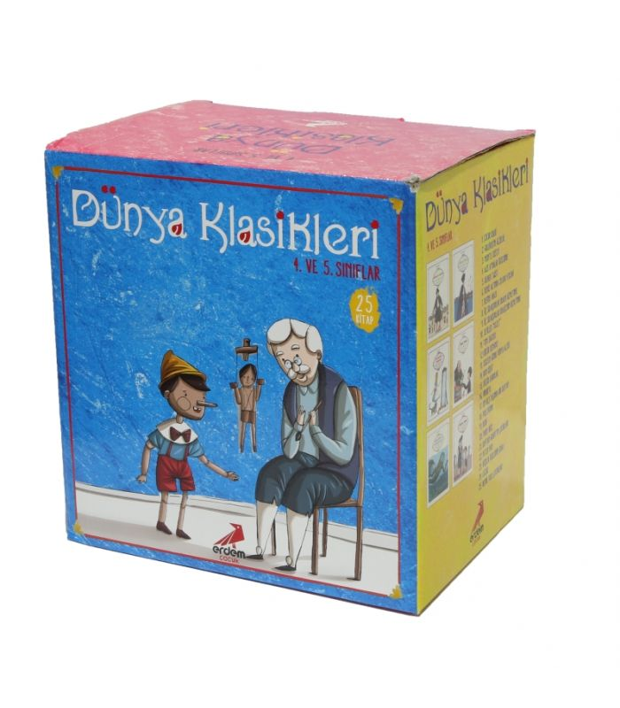 Erdem Yayınları Dünya çocuk Klasikleri Dizisi 25 Kitap