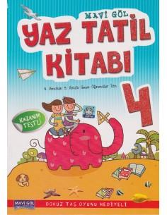 Mavi Göl Yayınları 4. Sınıf Yaz Tatil Kitabı