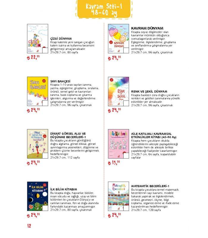 Erdem Yayınları Kavram Kitapları Set 148 60 Ay