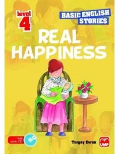 UMP Yayınları Ortaokul 7.Sınıf Basic English Stories Real Happiness