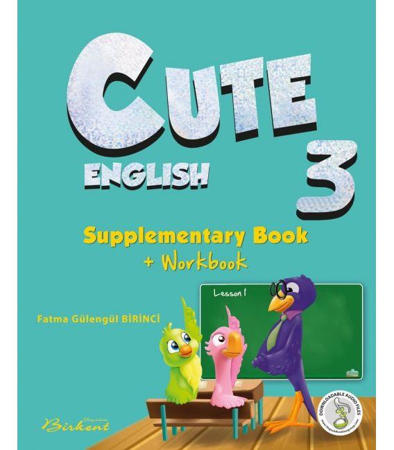 Birkent Yayınları Cute 3 Supplementary Book + Workbook