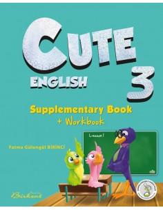 Birkent Cute English Supplementary Book + Workbook 3 2017