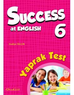 Birkent Yayınları Success at English Yaprak Test 6