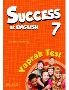 Birkent Yayınları Success at English Yaprak Test 7