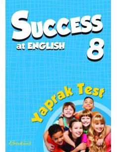 Birkent Yayınları Success at English Yaprak Test 8