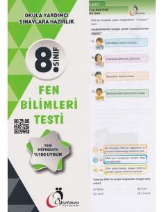 Öğretmen Yayınları Ortaokul 8.Sınıf Fen Bilimleri Testi